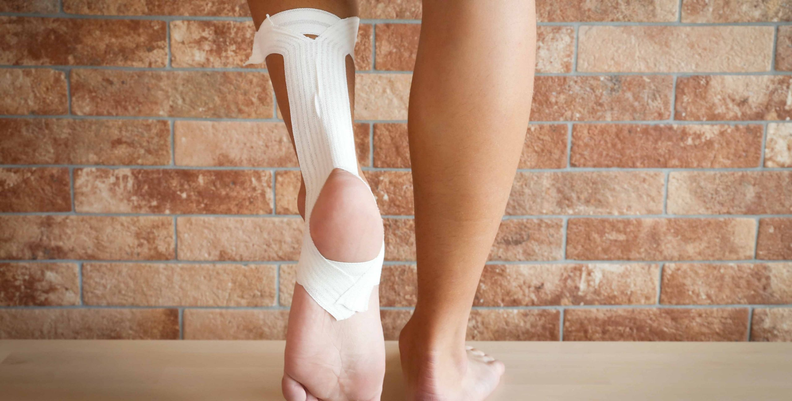 strapping tendon achille