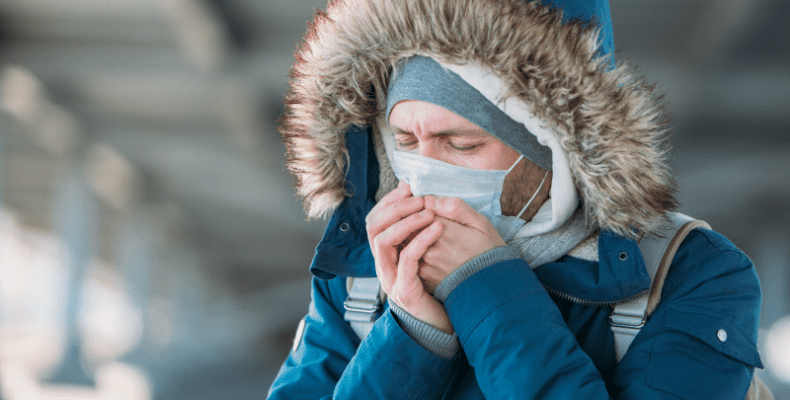 Masque protection froid hiver ffp2